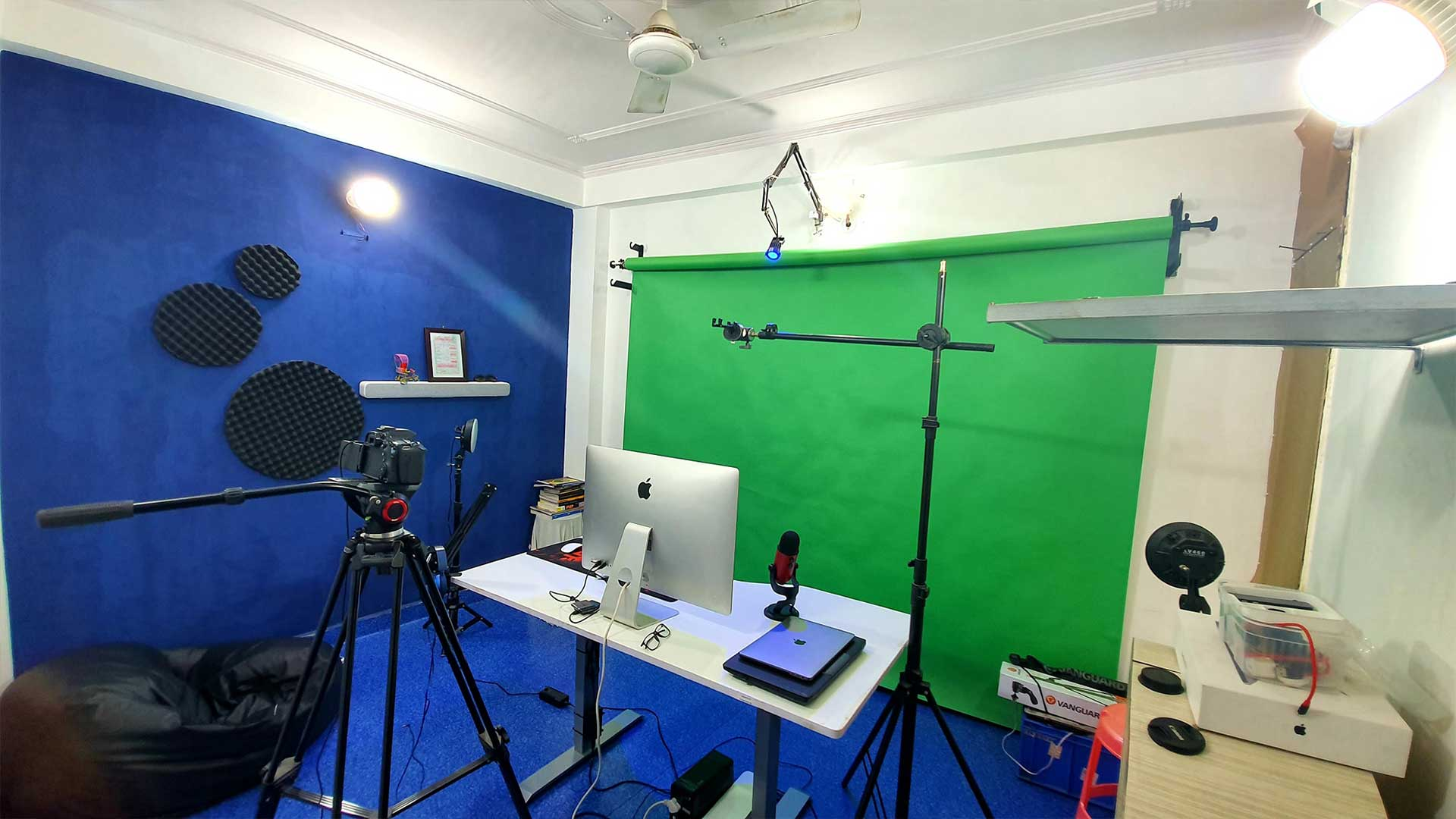Billi4You Studio Green Screen