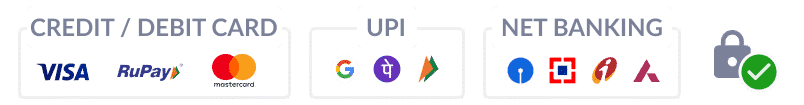 UPI | NetBanking | Crads | Wallet